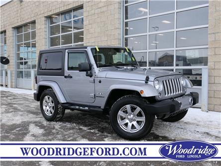 2016 Jeep Wrangler Sahara (Stk: 29949A) in Calgary - Image 1 of 17