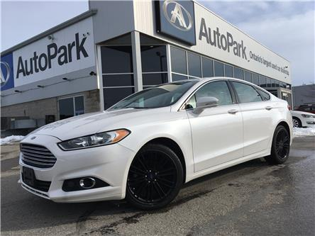2016 Ford Fusion SE (Stk: 16-53597MB) in Barrie - Image 1 of 25
