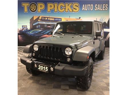2015 Jeep Wrangler Unlimited Sport (Stk: 574639) in NORTH BAY - Image 1 of 25
