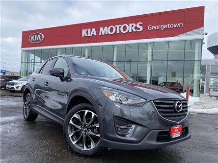 2016 Mazda CX-5 GT AWD | ROOF | LEATHER | BU CAM | BOSE |B/T| NAVI (Stk: P13010) in Georgetown - Image 2 of 35