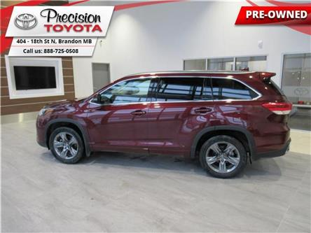 2017 Toyota Highlander Limited (Stk: 185191) in Brandon - Image 1 of 21