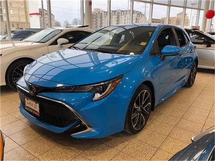 2019 Toyota Corolla Hatchback Base (Stk: U3129) in Vaughan - Image 1 of 17