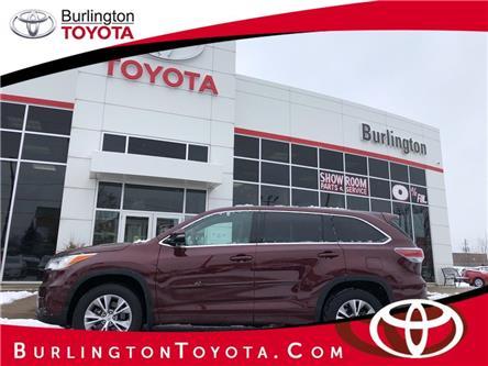 2015 Toyota Highlander LE (Stk: 209023A) in Burlington - Image 1 of 19