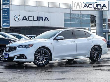 2018 Acura TLX Tech A-Spec (Stk: 4135) in Burlington - Image 1 of 30