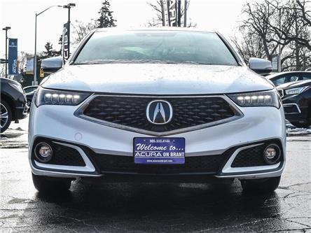 2018 Acura TLX Tech A-Spec (Stk: 4135) in Burlington - Image 2 of 30