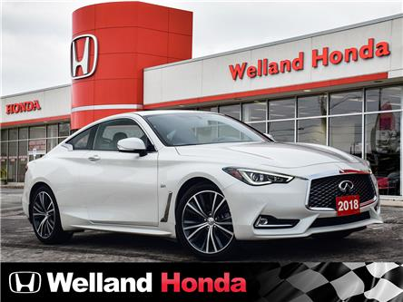 2018 Infiniti Q60 3.0T Sport (Stk: U8080) in Welland - Image 1 of 23