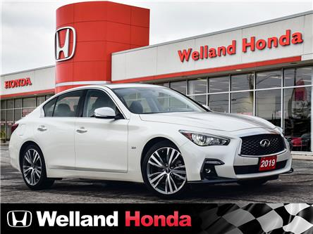 2019 Infiniti Q50 3.0T Sport (Stk: U8407) in Welland - Image 1 of 20