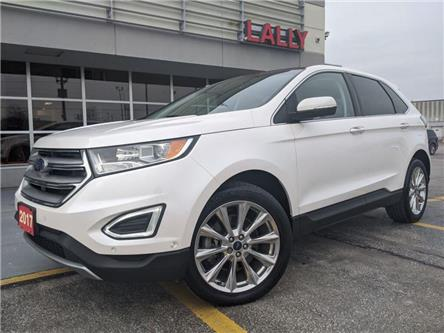 2017 Ford Edge Titanium (Stk: KSOR2048A) in Chatham - Image 1 of 25