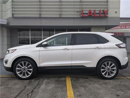 2017 Ford Edge Titanium (Stk: KSOR2048A) in Chatham - Image 2 of 25