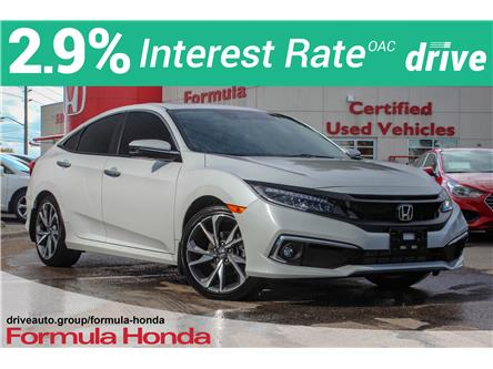 2019 Honda Civic Touring (Stk: 20-0790A) in Scarborough - Image 1 of 28