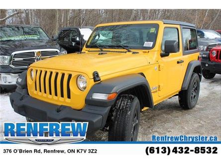 2019 Jeep Wrangler Sport (Stk: K420) in Renfrew - Image 1 of 29