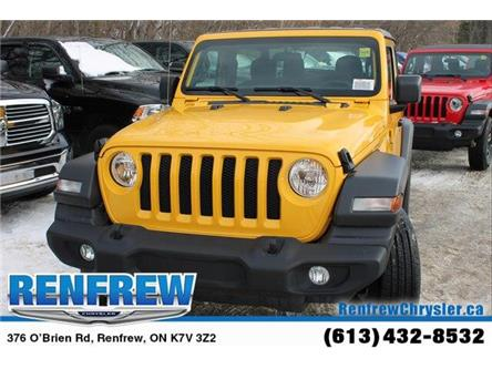 2019 Jeep Wrangler Sport (Stk: K420) in Renfrew - Image 2 of 29