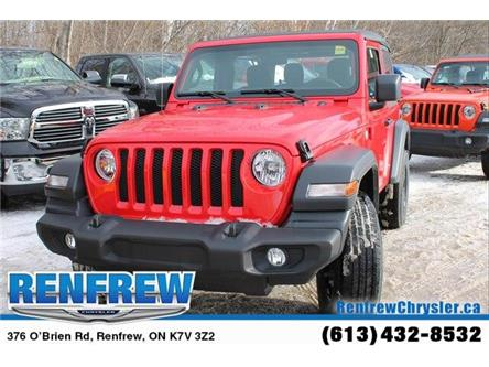 2019 Jeep Wrangler Sport (Stk: K421) in Renfrew - Image 2 of 30