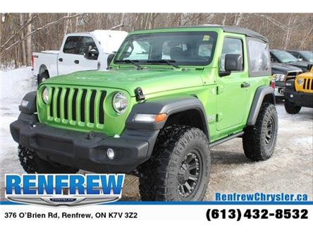 2019 Jeep Wrangler Sport (Stk: K418) in Renfrew - Image 1 of 30