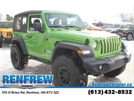 2019 Jeep Wrangler Sport (Stk: K418) in Renfrew - Image 2 of 30