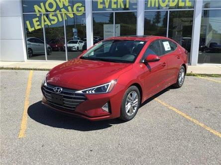2020 Hyundai Elantra Preferred w/Sun & Safety Package (Stk: H12245) in Peterborough - Image 1 of 19