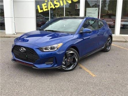 2020 Hyundai Veloster Turbo w/Sandstorm Leather (Stk: H12276) in Peterborough - Image 1 of 23
