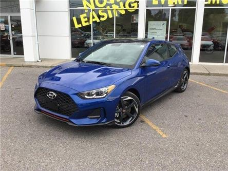 2020 Hyundai Veloster Turbo w/Sandstorm Leather (Stk: H12276) in Peterborough - Image 2 of 21
