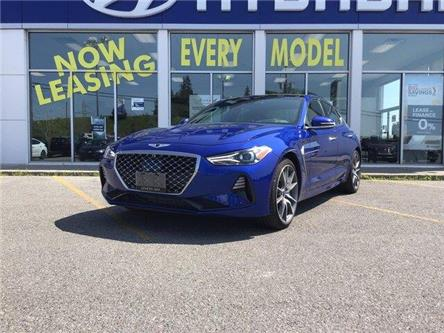 2019 Genesis G70 2.0T Prestige (Stk: H12144A) in Peterborough - Image 1 of 24
