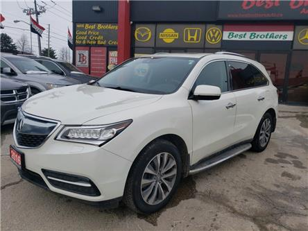 2016 Acura MDX Navigation Package (Stk: 507288) in Toronto - Image 1 of 19