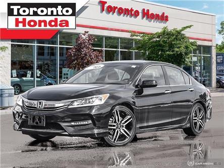 2017 Honda Accord Sedan Sport (Stk: H39916A) in Toronto - Image 1 of 27