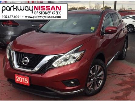 2015 Nissan Murano SV (Stk: N19389A) in Hamilton - Image 1 of 8