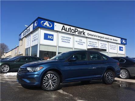 2019 Volkswagen Jetta 1.4 TSI Highline (Stk: 19-11573) in Brampton - Image 1 of 25