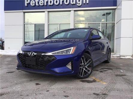 2020 Hyundai Elantra Sport (Stk: H12364) in Peterborough - Image 1 of 15