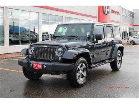 2018 Jeep Wrangler JK Unlimited Sahara (Stk: 19067A) in Fort St. John - Image 1 of 20