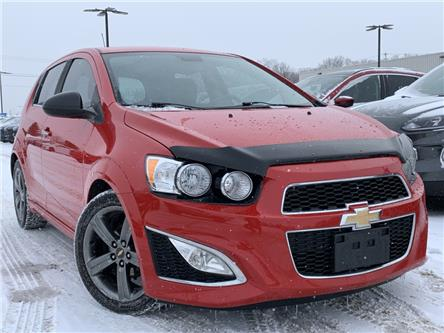2013 Chevrolet Sonic RS Manual (Stk: 19T1154AA) in Midland - Image 1 of 13