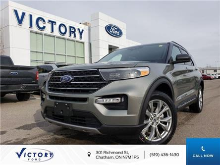 2020 Ford Explorer XLT (Stk: VEX19184) in Chatham - Image 1 of 21