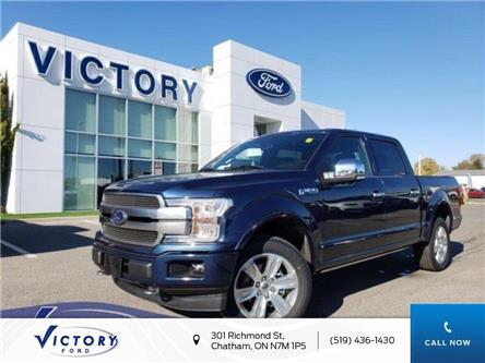 2019 Ford F-150 Platinum (Stk: VFF19005) in Chatham - Image 1 of 15