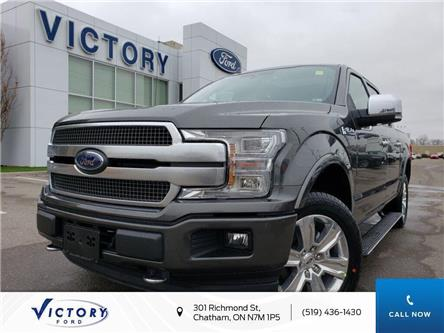 2020 Ford F-150 Platinum (Stk: VFF19165) in Chatham - Image 1 of 24