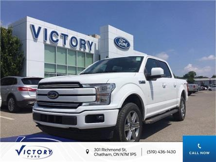 2019 Ford F-150 Lariat (Stk: VFF18687) in Chatham - Image 1 of 12
