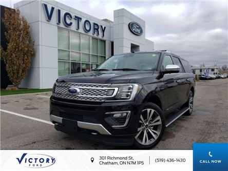 2020 Ford Expedition Max Platinum (Stk: VED19090) in Chatham - Image 1 of 18