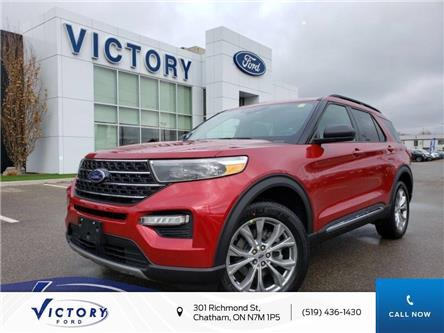 2020 Ford Explorer XLT (Stk: VEX19160) in Chatham - Image 1 of 21