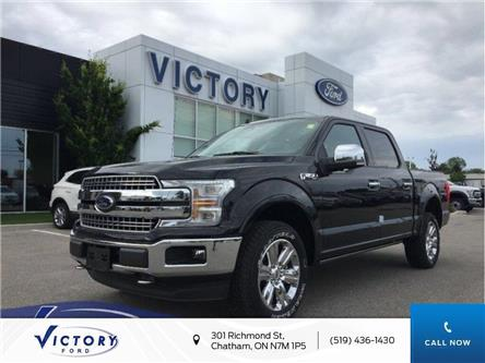 2019 Ford F-150 Lariat (Stk: VFF18593) in Chatham - Image 1 of 11