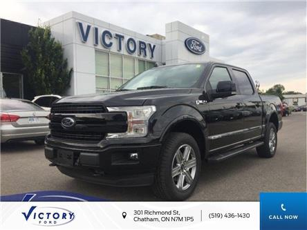2019 Ford F-150 Lariat (Stk: VFF18715) in Chatham - Image 1 of 12