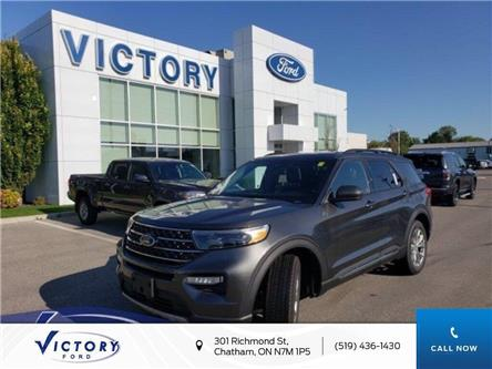 2020 Ford Explorer XLT (Stk: VEX18949) in Chatham - Image 1 of 13