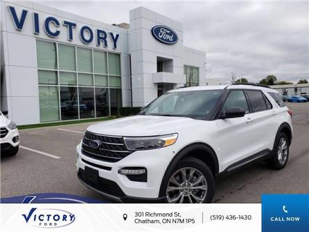 2020 Ford Explorer XLT (Stk: VEX18951) in Chatham - Image 1 of 14