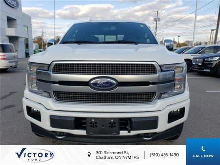 2020 Ford F-150 Platinum (Stk: VFF19061) in Chatham - Image 1 of 15