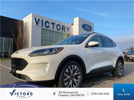 2020 Ford Escape Titanium Hybrid (Stk: VEP19194) in Chatham - Image 1 of 11