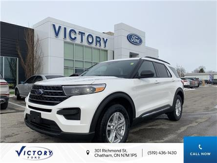 2020 Ford Explorer XLT (Stk: VEX19247) in Chatham - Image 1 of 12