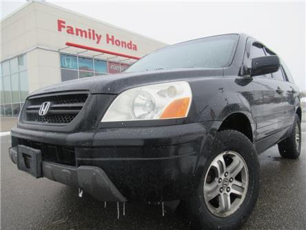 2003 Honda Pilot 4dr 4WD EX Auto w-Leather | ROOF RACKS!! | (Stk: 002452T) in Brampton - Image 1 of 16