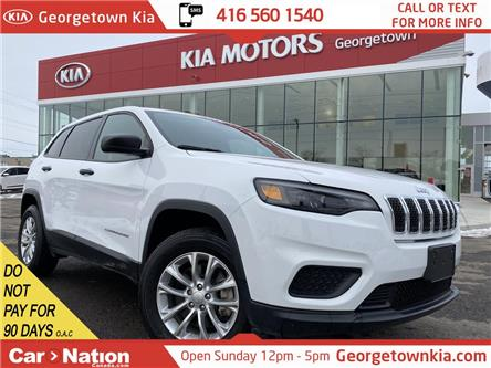 2019 Jeep Cherokee Sport| 4X4 | BACK UP CAM | DRIVE SELECT |BLUETOOTH (Stk: P13080) in Georgetown - Image 1 of 30