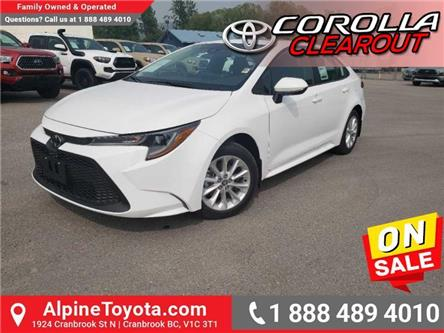 2020 Toyota Corolla LE (Stk: P003535) in Cranbrook - Image 1 of 17