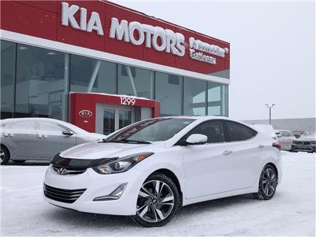 2014 Hyundai Elantra Limited (Stk: 20096A) in Gatineau - Image 1 of 21