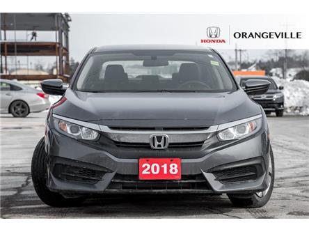 2018 Honda Civic LX (Stk: F20072A) in Orangeville - Image 2 of 18