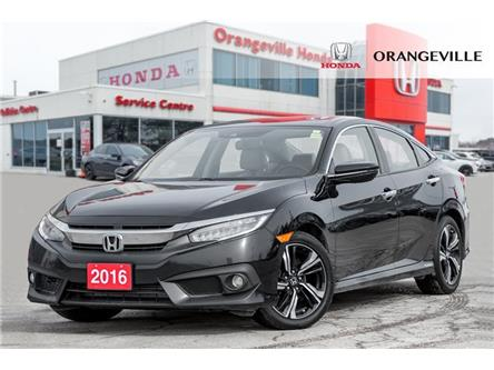 2016 Honda Civic Touring (Stk: U3313) in Orangeville - Image 1 of 21