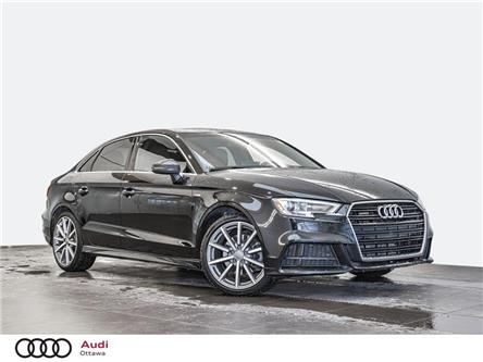 2018 Audi A3 2.0T Progressiv (Stk: 53282A) in Ottawa - Image 1 of 20